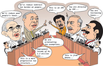 Econ Cartoon4 in sri lankan news