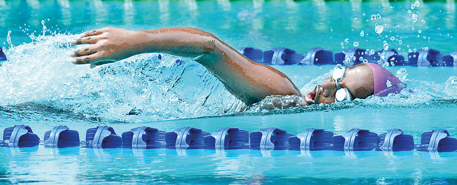 St. Joseph's carries forward the winning trend in swimming