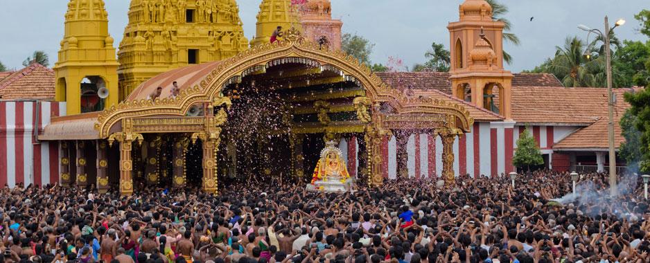 When a resplendent chariot  of faith kindles devotion