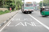 Bus only lanes get going with rules for the road