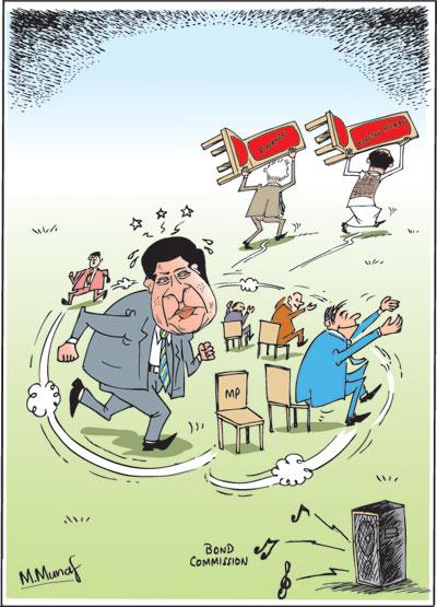 Pol Corr cartoon new in sri lankan news