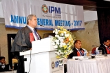 IPM re-elects Prof. Ajantha Dharmasiri as President