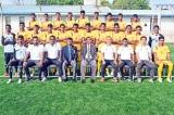 Lanka U-15 footballers at SAFF Championship