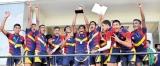 Sarasavi Uyana MV Peradeniya emerge champions