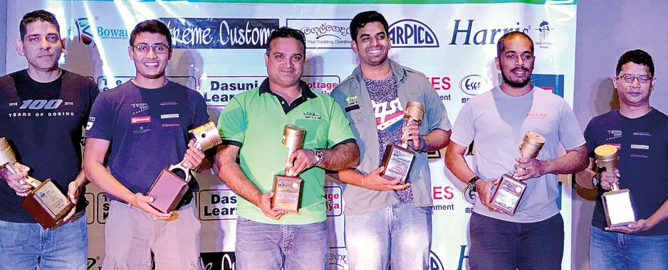 Shafraz and Akhry win  KORAC TSD Night Rally