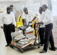 Rajapakshe files out after his removal