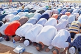 Haj festival prayers at Galle Face