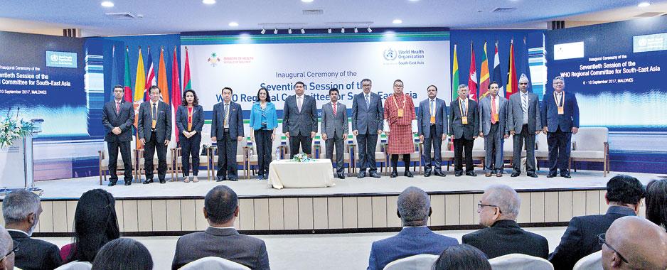Climate change heads health agenda