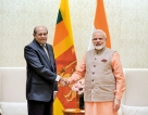 Marapana calls on Modi on first overseas trip as FM