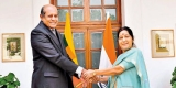 Marapana in India on first overseas visit as FM