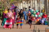 Evening stroll at Galle Face