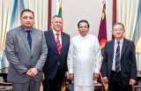 AIA Group Chief Executive meets President, pledges support to Sri Lanka