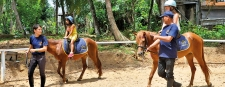 Kid's riding lessons at the Pony Club
