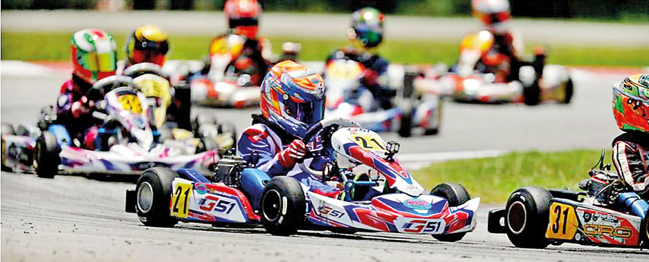 Yevan Ranasinghe is overall South East Asia Cadet Karting champion
