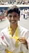 Roneth Hansaja takes first place in Karate