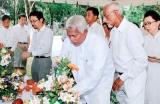 Memorial service for Japanese who died in Sri Lanka