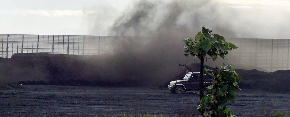 Norochcholai coal dust nightmare:  Relief may be in sight for victims