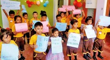 Pre-School in Kalmunai celebrated Children's Day