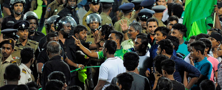 Rugby in Sri Lanka governed  by Rupees, with little or no sense