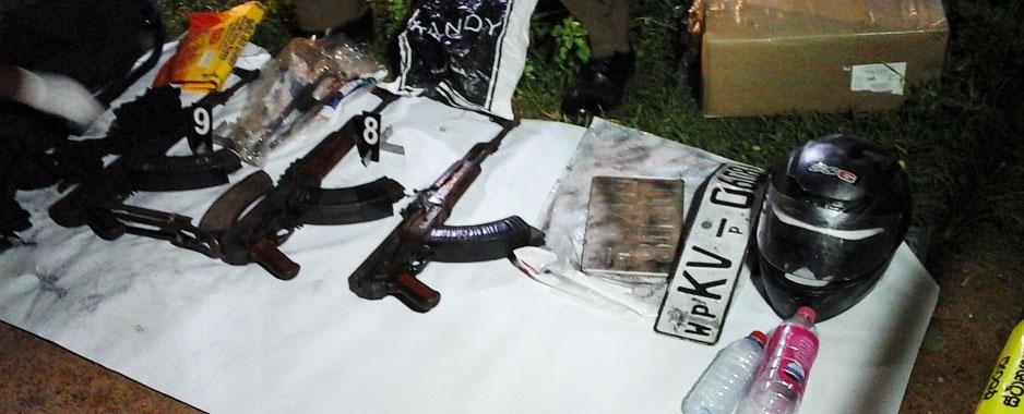 Illegal weapons:  No smoking guns