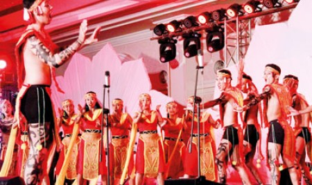 Potpourri of traditions with  a song and a dance