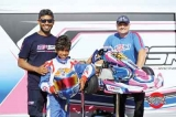 Lankan-born Karting prodigy Yevan David(10) among Top 16