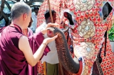 TRADITIONAL WELCOME FOR BUDDHIST CONFERENCE DELEGATES