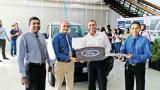 Ford Ranger pickups for Hambantota zoo