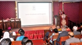 Prof. Ranil delivers M.P.M. Cooray Memorial Oration