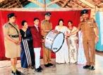 Gampaha Police gift Drum to Ambaraluwa MMV