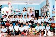 Deenside Pre-School handwork exhibition