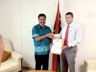 Suren appointed Honorary Consul for Vanuatu