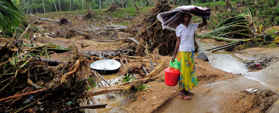 Climate change adaptation: Disaster risk reduction and catchment conservation