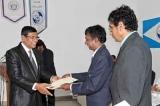 Sunanda Kodagoda receives award from ANPAS