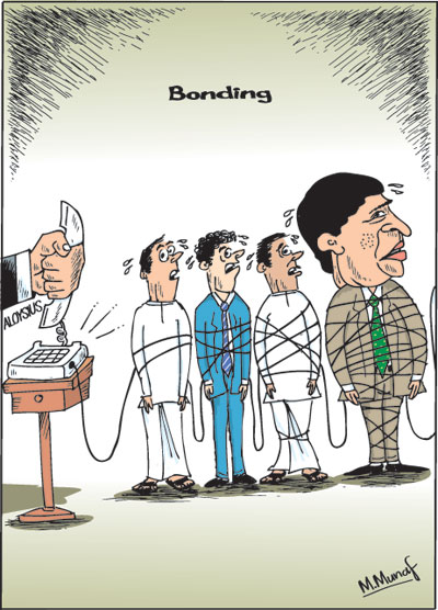 Pol corr cartoon2 in sri lankan news