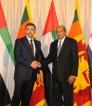 UAE Foreign Minister Sheikh Abdullah bin Zayed Al Nahyan visits Sri Lanka