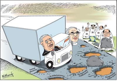 Econ cartoon3 in sri lankan news