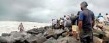 Fishermen caught between livelihood needs and the angry sea