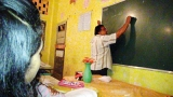 Dedicated teachers in village school offer night classes for O/L students