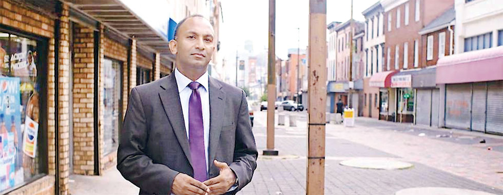 Can this Lankan American lawyer fix America's deadliest city?