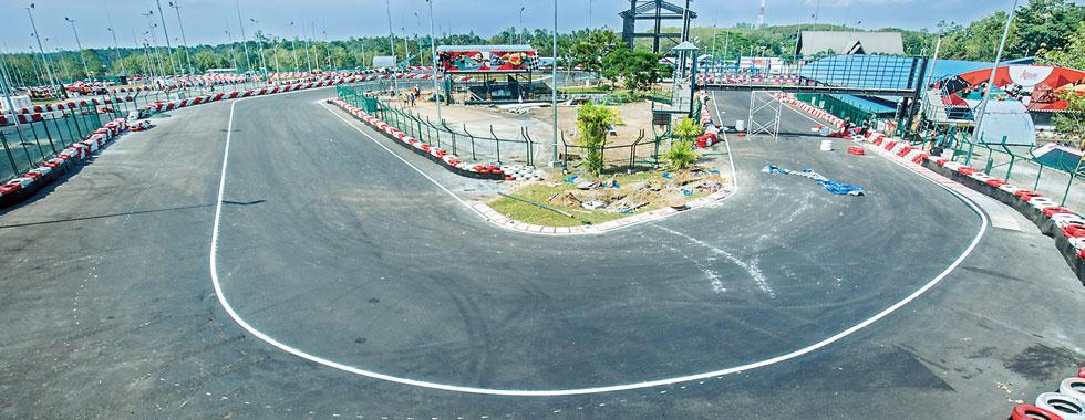 Sri Lanka breaks into global  Motor racing circuit
