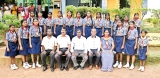 Ceremony to enrol girl guides