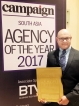 """BBDO Lanka wins """"Rest of South Asia Creative Agency of the Year"""" award for third time"""