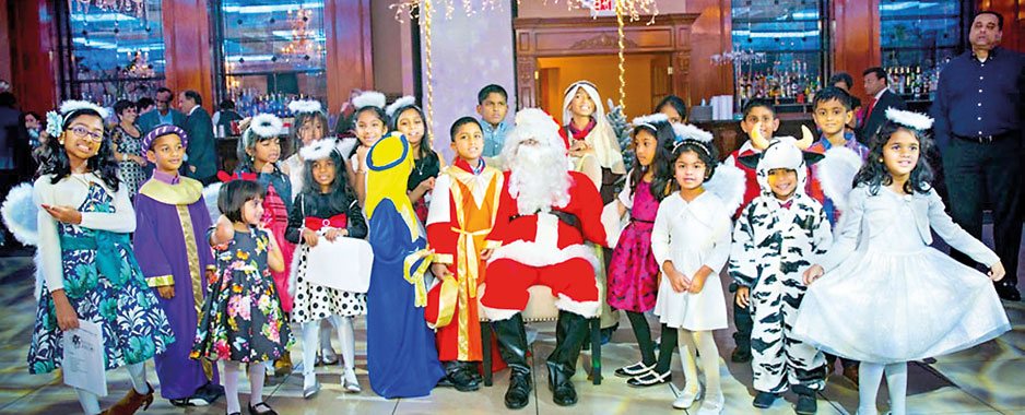 Sri Lankans celebrate White Christmas in New York