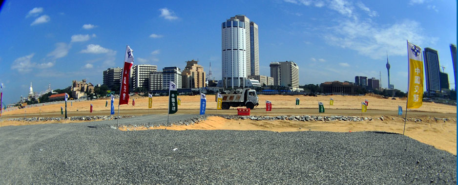Colombo's changing skyline to dazzle South Asia