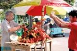 Rambutan during Christmas?