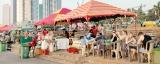 Galle Face -now a tourist hotspot