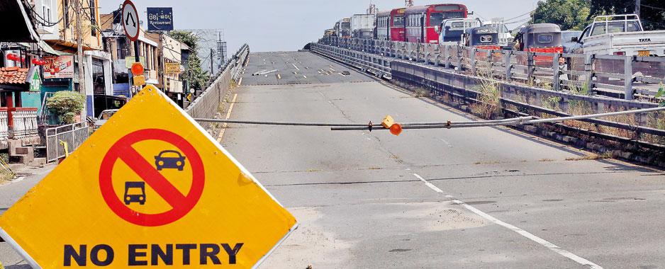 Crawling Kelaniya  flyover overhaul can't set the record straight