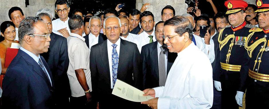 President Sirisena at 3: Politician or statesman?