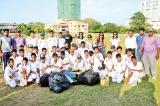 A noble gesture by British School U-13 Cricket Team